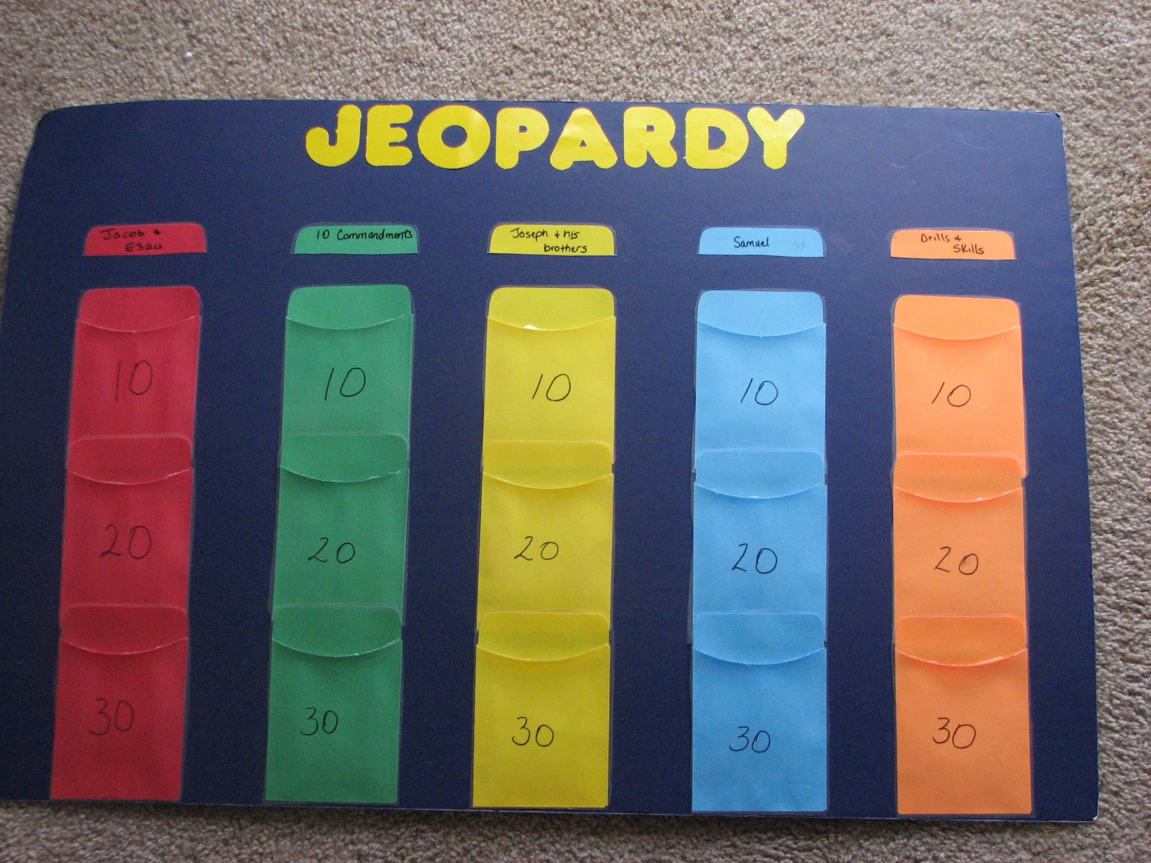 Youth jeopardy games movie releases dythepiratebay for Kids jeopardy template